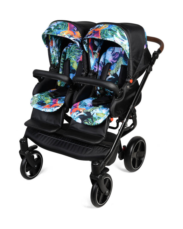 Wózek bliźniaczy Quick Twin - Dorjan INFACT